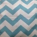 1-inch stripe Aqua